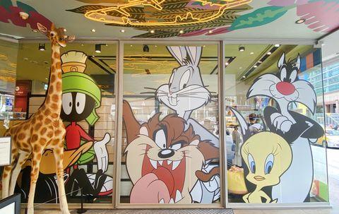 華納兄弟經典卡通《樂一通looney tunes》80週年!進駐南西新光三越快閃店