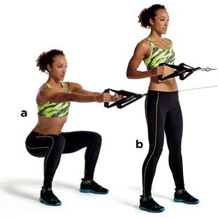 Quick Workout Use Cables For Total Body Fitness