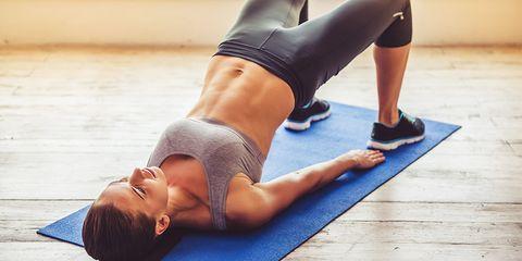 Physical fitness, Abdomen, Leg, Yoga, Shoulder, Pilates, Yoga mat, Thigh, Arm, Joint,