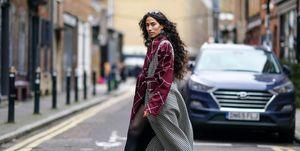 Street Style tijdens Londen Fashion Week vanJanuary 2020