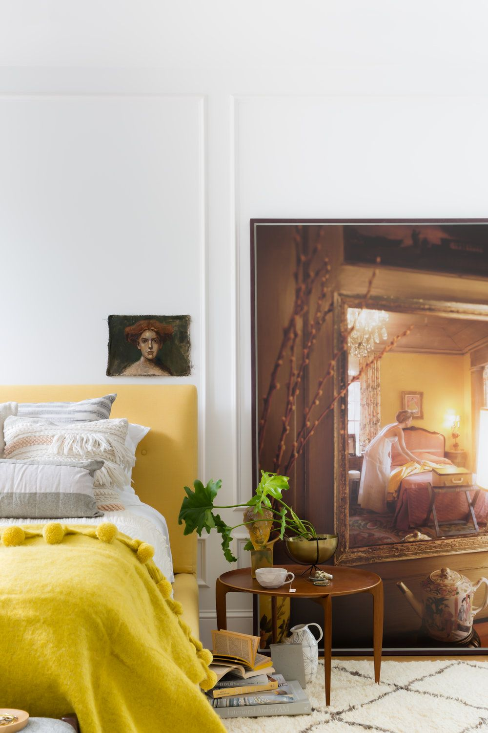 Bedroom Yellow Color Combination