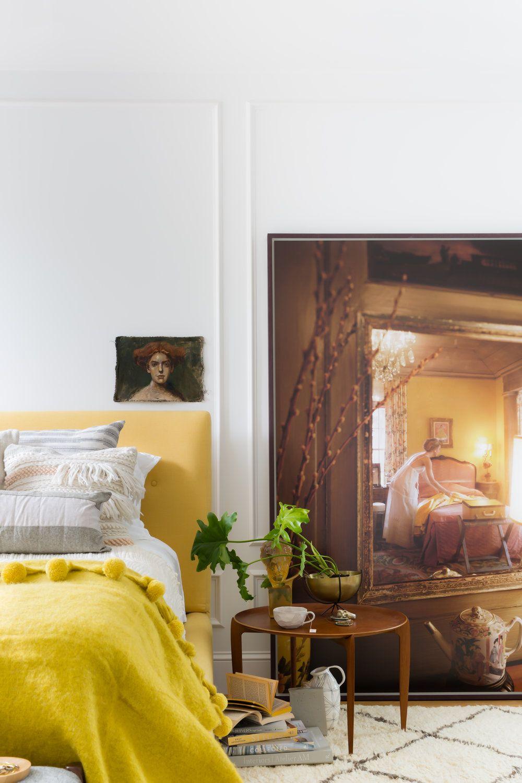 yellow bedroom ideas & 50+ Stylish Bedroom Design Ideas - Modern Bedrooms Decorating Tips