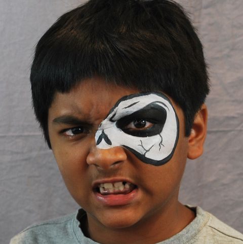 20 easy halloween face paint ideas  halloween makeup