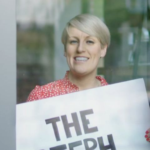Steph McGovern will be broadcasting live from her home next week