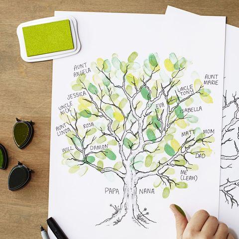 thanksgiving activity family tree