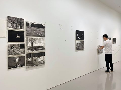 《幾米──畫室裡的呢喃》特展只在誠品畫廊!高達90餘件作品與未曝光的全新繪畫不藏私展出