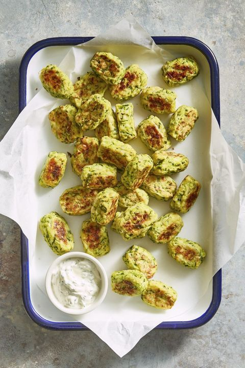 Healthy Appetizers — Zucchini Tots