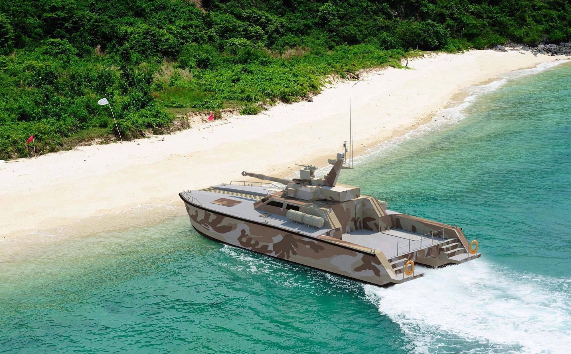 Indonesia Built a Damn Tank Boat