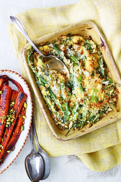 Green Bean-Cheddar Casserole recipe