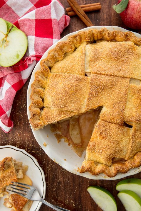 Dish, Food, Cuisine, Apple pie, Ingredient, Baked goods, Dessert, Pie, Apple, Rhubarb pie,