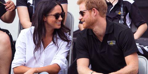 Meghan Markle Prince Harry Tennis
