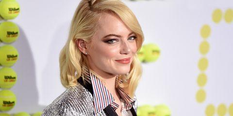 Emma Stone Battle Sexes premiere