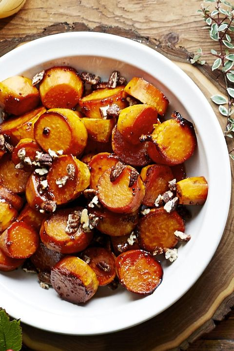 Thanksgiving Side Dishes – Sorghum-Glazed Sweet Potatoes
