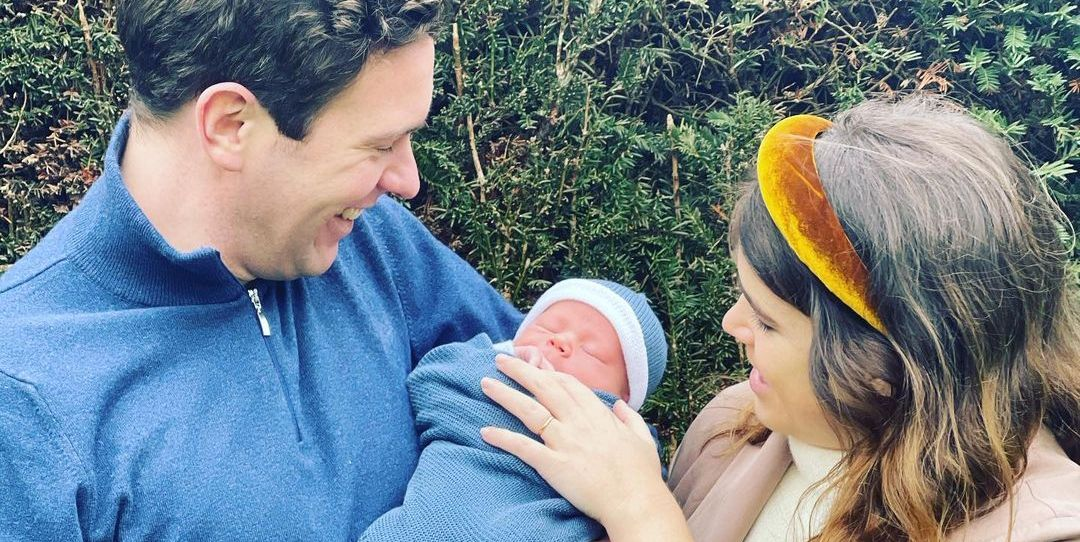 Princess Eugenie Wears a Statement-Making Headband in Her First Photos as a New Mom - TownandCountrymag.com