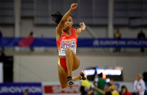 Sports, Heptathlon, Athletics, Jumping, Athlete, Competition, Championship, Individual sports, Track and field athletics, Competition event,