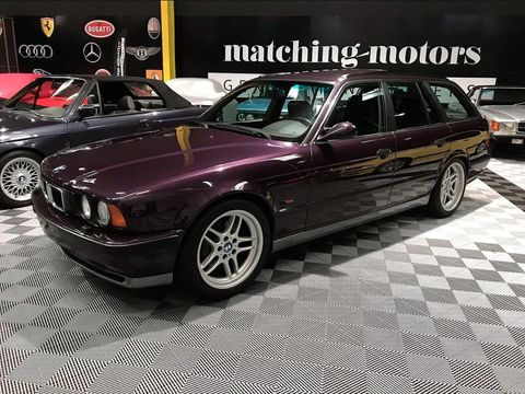 You Should Buy This Purple E34 Bmw M5 Touring So We Don T