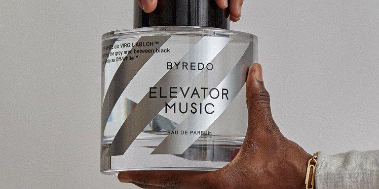 Off-White,Byredo,聯名,香水,Elevator Music,香氛,潮牌