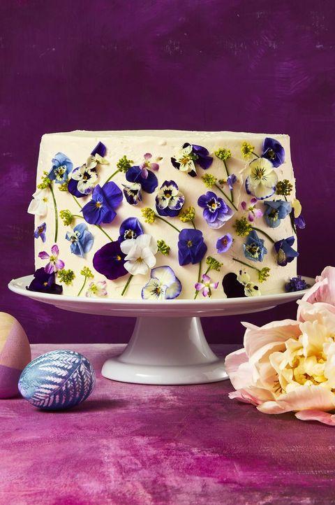 easter cakes -Vanilla Blossom Cake