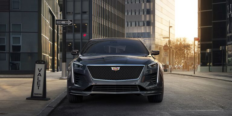 Cadillac CT6 V-Sport: 550-HP Twin-Turbo V8 and All-Wheel Drive