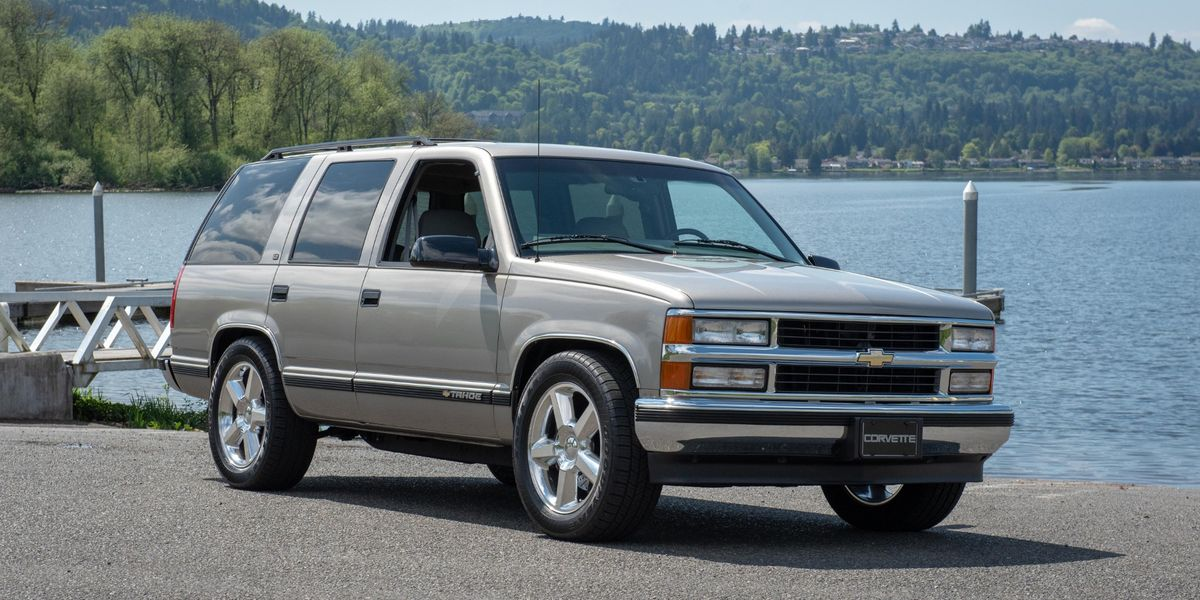 This '98 Chevy Tahoe Has the 638-HP Heart of a Corvette ZR1