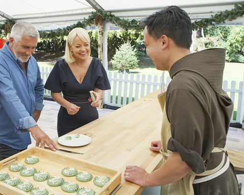 PAUL HOLLYWOOD, SHERRY YARD, BROTHER ANDREW