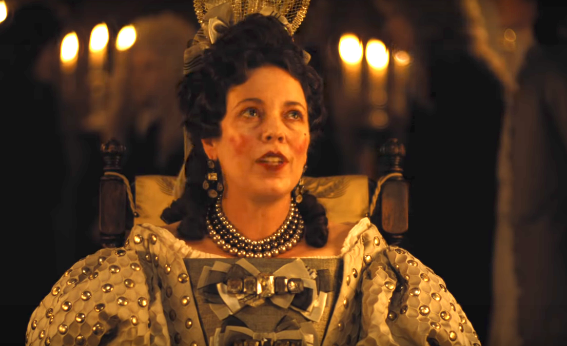 Olivia Colman tricked Emma Stone with a wet sponge during The Favourite's  sex scenes