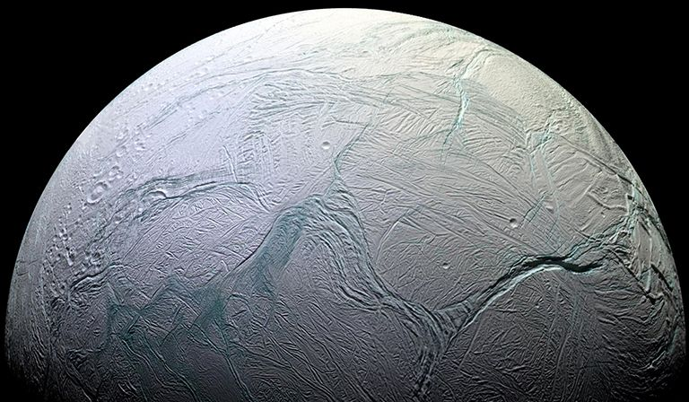 Enceladus's Ocean Could Be Just the Right Age For Harboring Life
