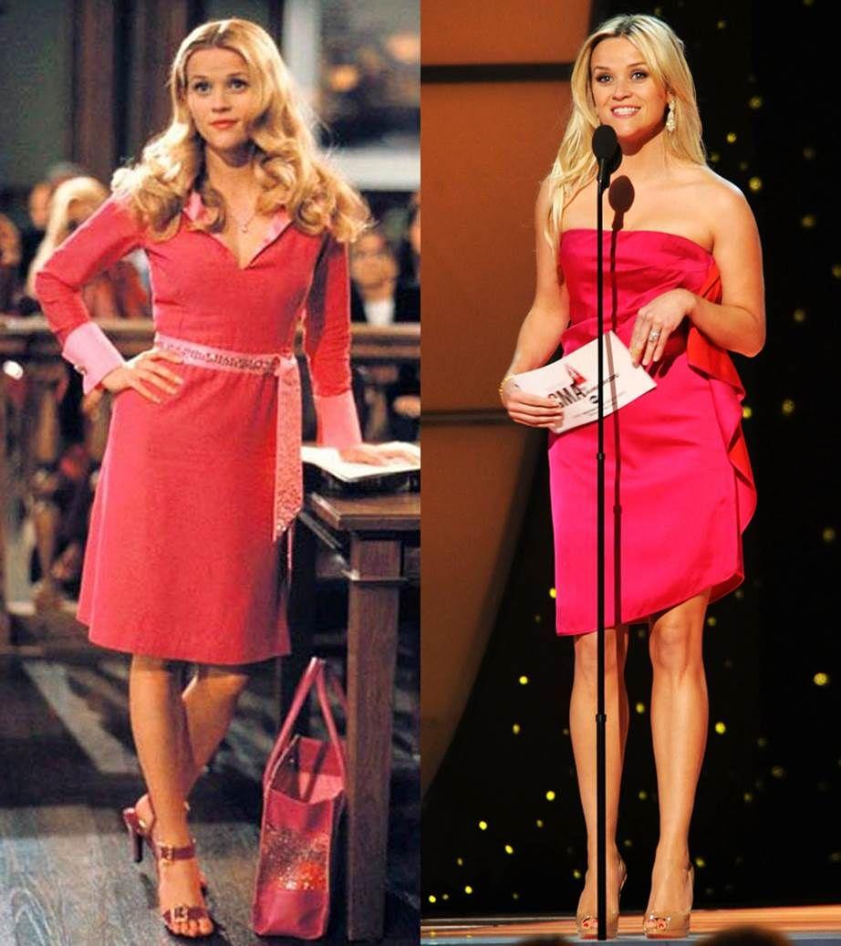 Legally Blonde, Reese Witherspoon, 瑞絲薇絲朋, 穿搭, 金髮尤物, 金髮尤物3, 電影金髮尤物