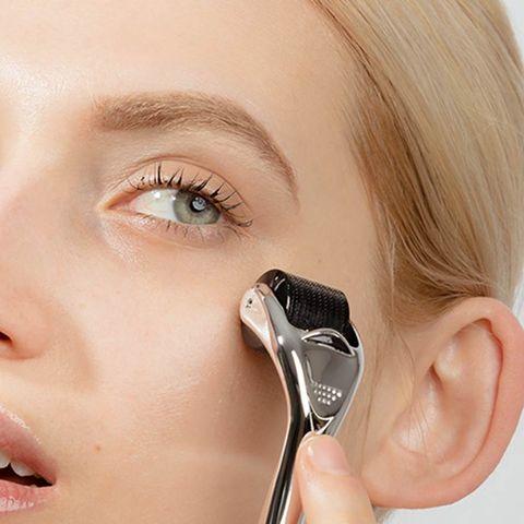Face, Eyelash, Nose, Eyebrow, Skin, Cheek, Eye, Ear, Beauty, Head,