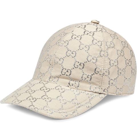 gucci銀線棒球帽