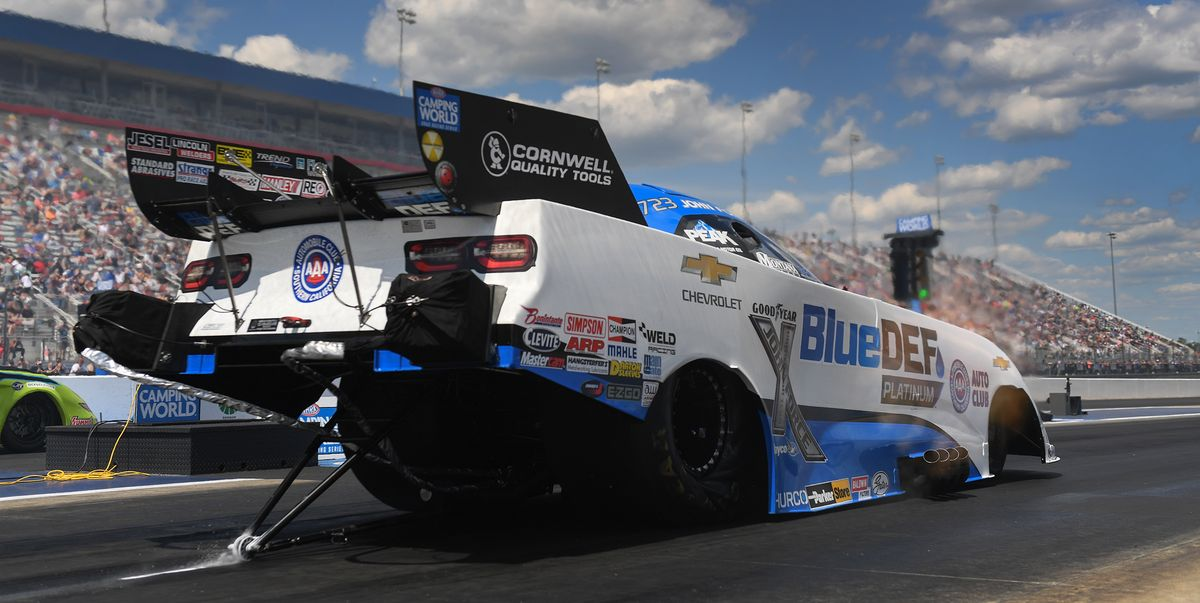 John Force, Brittany Force tie Special Record at NHRA Four-Wide Nationals
