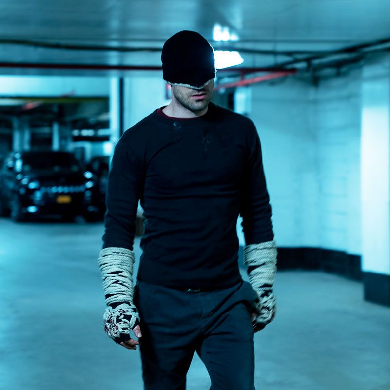 Florida Is it just me or are there a lot of guys in masks? Enter Daredevil , yet another Marvel series to make this list, which is a favorite in Florida.