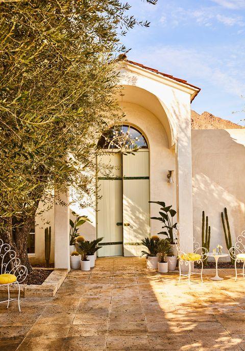 A Palm Springs home