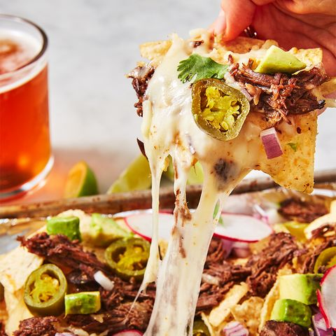 Instant Pot Shredded Beef Nachos