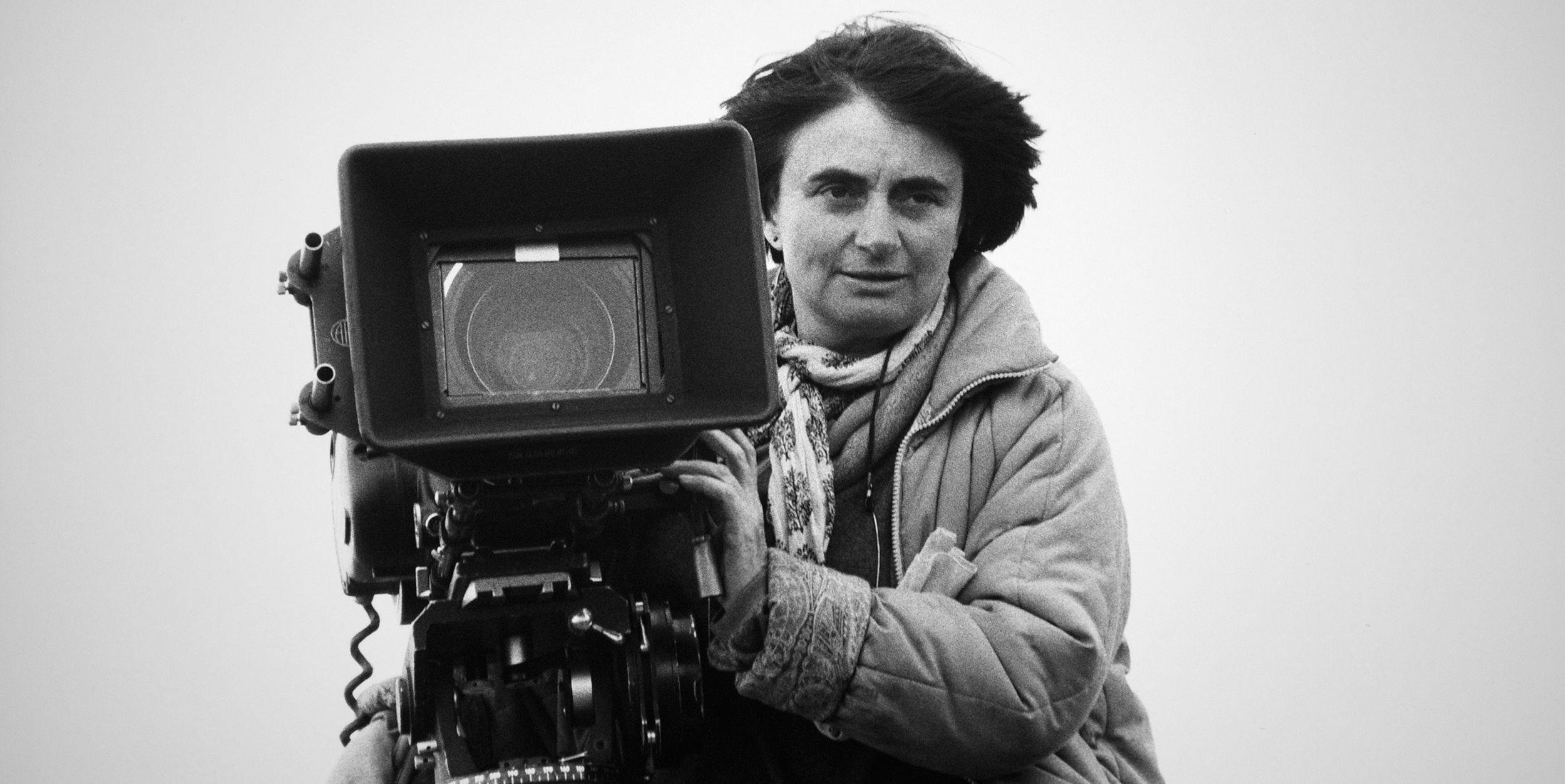 Portrait de la réalisatrice Agnès Varda