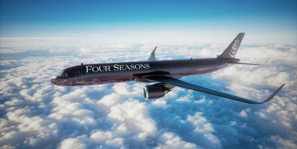 Así es el Airbus A321LR de Four Seasons: el jet privado más lujoso del momento