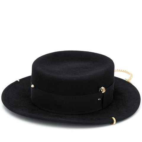ruslan baginskiy 鎖鏈黑色牛仔帽