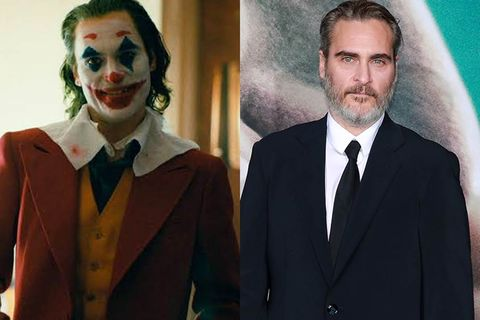 Joker, Supervillain, Fictional character, Clown, Smile, Suit, Batman, Performing arts, Formal wear, Costume,
