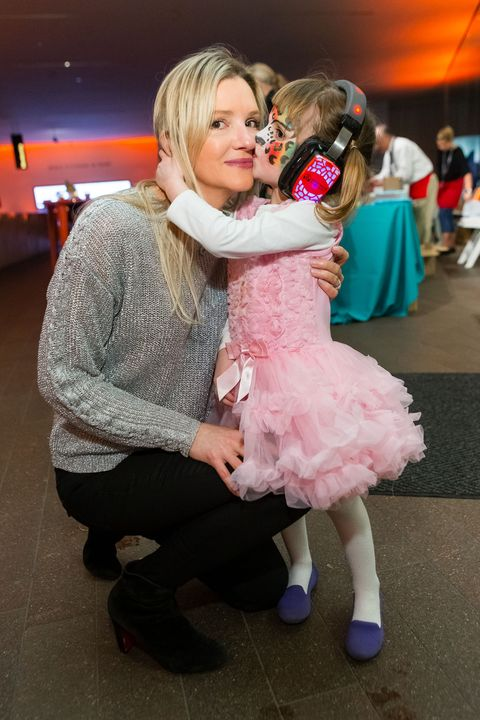 Pink, Yellow, Interaction, Fashion, Fun, Event, Dance, Dress, Child, Happy,