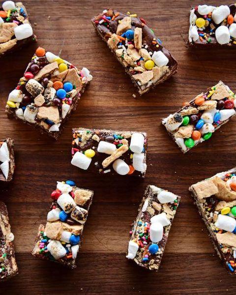 best smore dessert recipes no bake smores bars