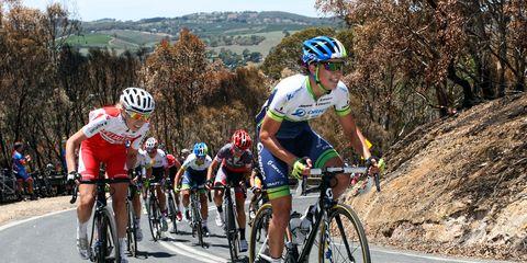Santos Women's Tour 2015 Checker Hill Road climb