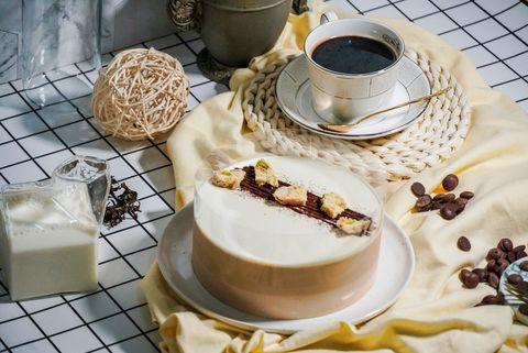 mj handmade patisserie 微甜室推出鴛鴦奶茶 綠茶多多蛋糕甜點