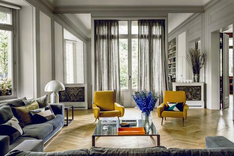 Art Deco Style And Modern Design Combine In This Parisian Home