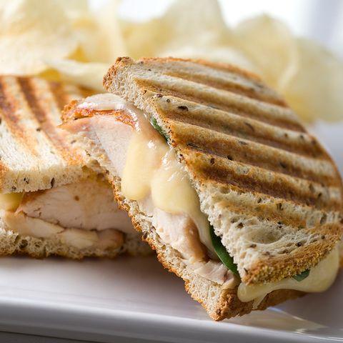 sandwich au poulet panini