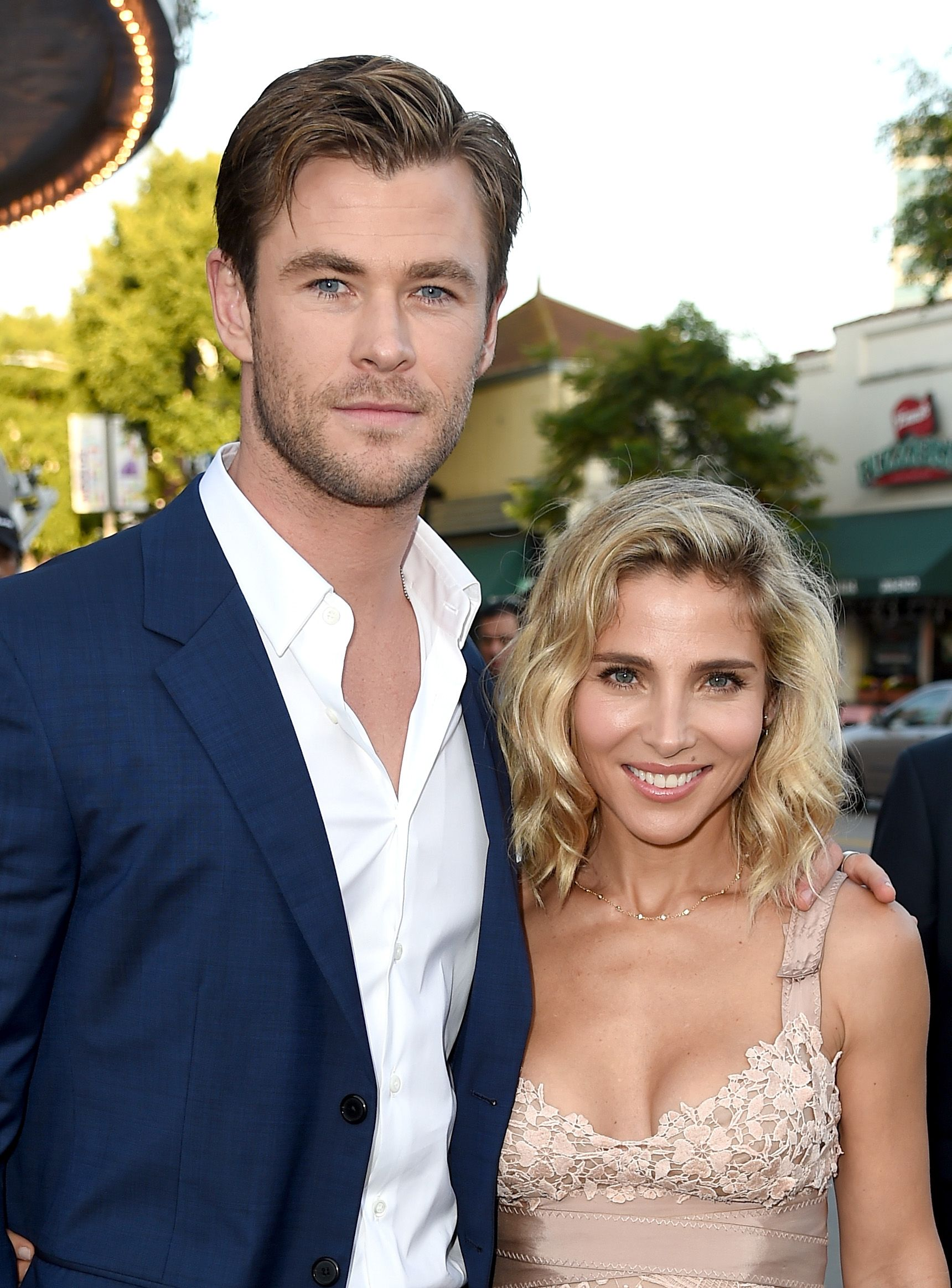 Chris Hemsworth and Elsa Pataky The beautiful Aussies met through their dialect coach, who knew they would hit it off. She was right—the couple married in 2010.