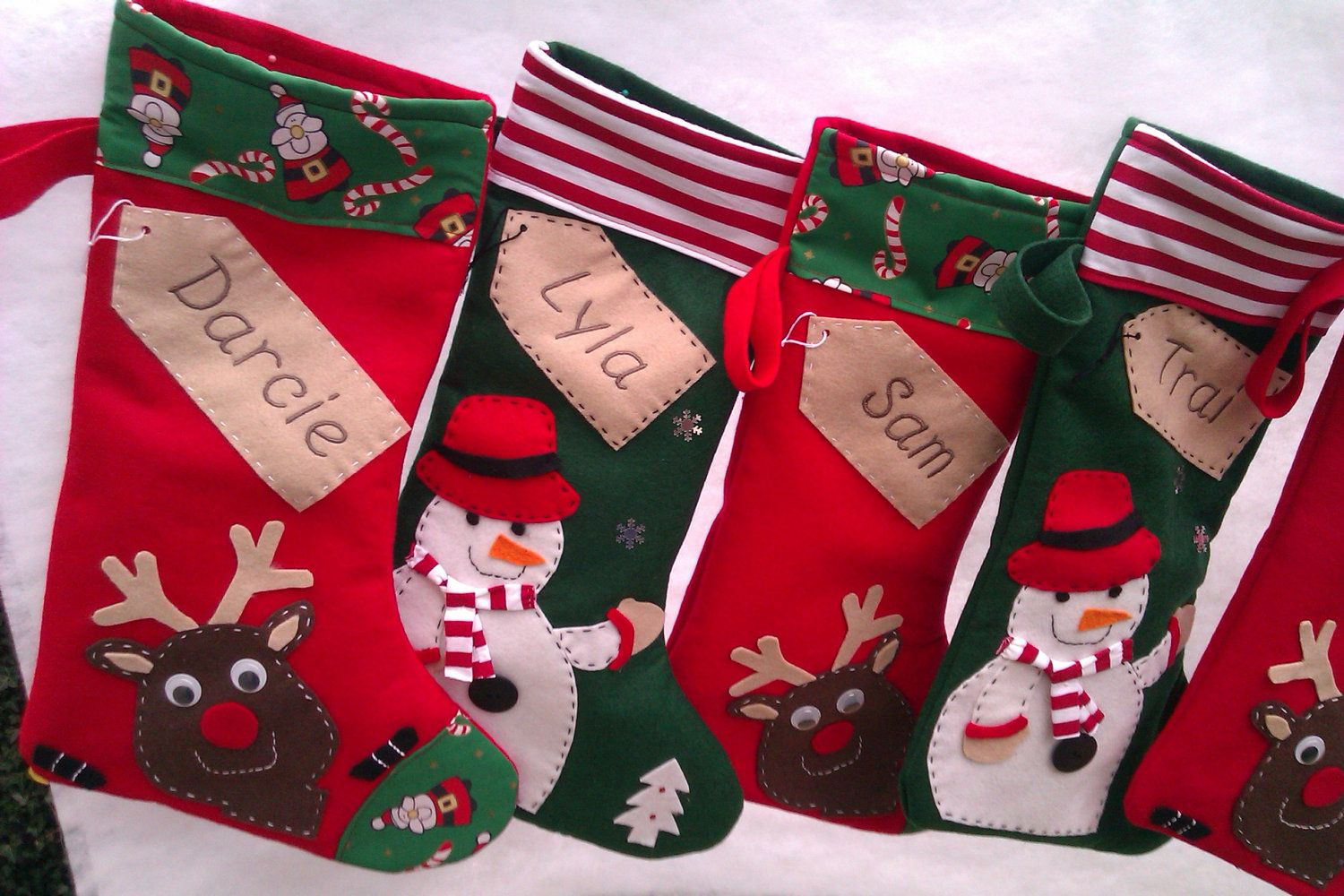 christmas stockings cute christmas stockings and santa sacks to decorate your home