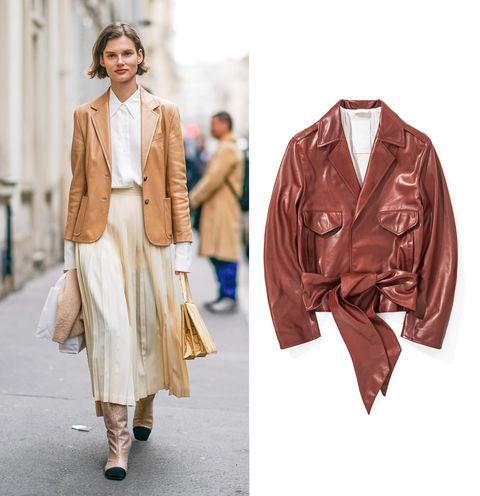 reputable site b6acd a279e Giacca di pelle, come indossarla: 18 outfit moda estate 2018