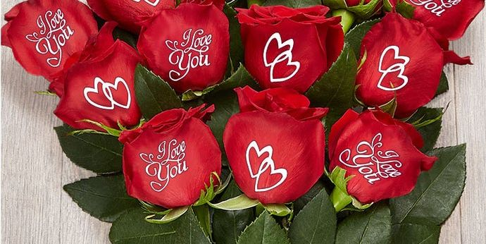 1-800 Flowers Now Offers Conversation Roses and We Need Them For Valentine's Day