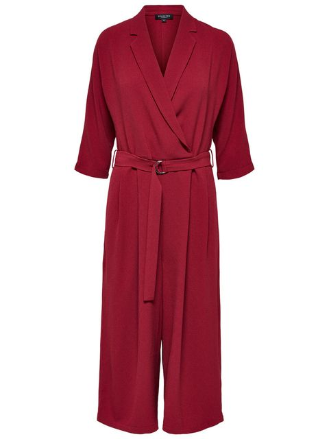 Clothing, Robe, Red, Dress, Nightwear, Sleeve, Outerwear, Neck, Gown, Day dress,