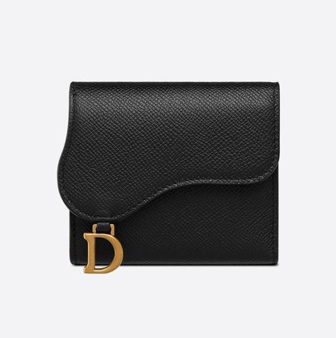 dior saddle黑色短夾